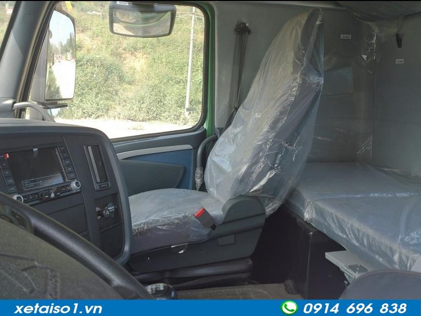 cabin xe trộn howo