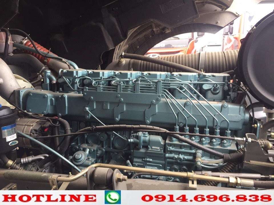 động cơ xe howo 375 cầu dầu