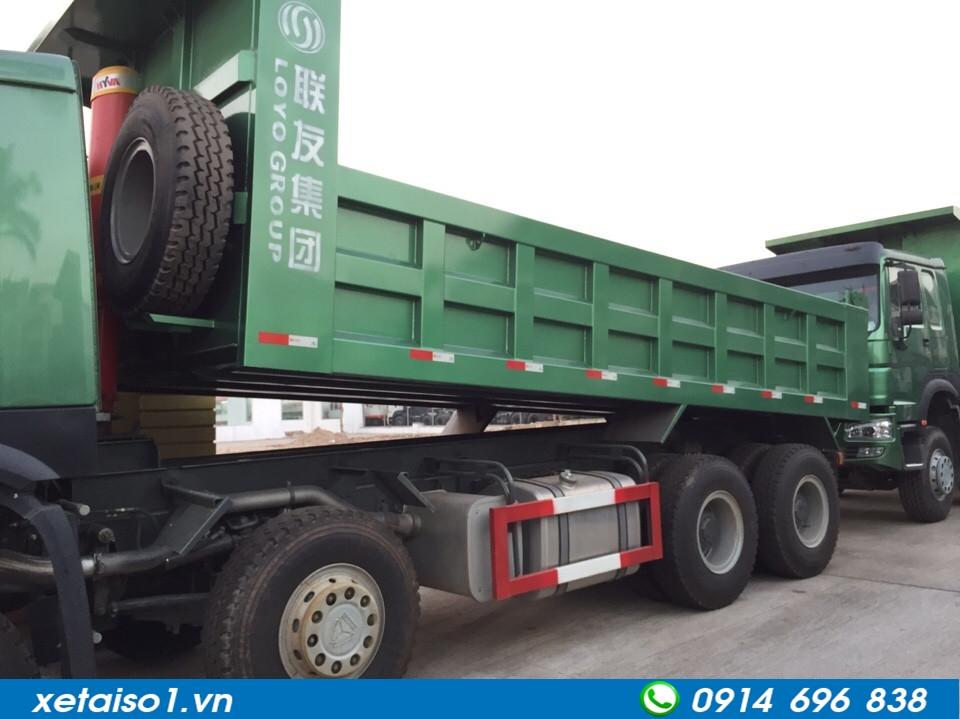 xe tải ben howo 371