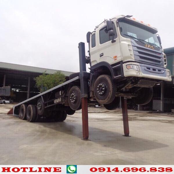 xe tải jac 5 chân nâng đầu