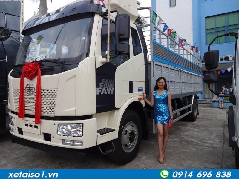 xe tải faw 2 chân tải 9,1 tấn
