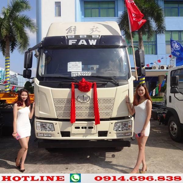 xe tải thùng faw 2 chân